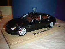 BBR Maserati Quattroporte Detroit 2013 Silk Black 1/18 Scale LE of 100 P1861C