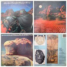 NAZARETH - BLUE OYSTER CULT - URIAH HEEP LP Records 33rpm Vinyls Auction#22