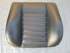 BMW 635CSI 635 CSI Front Seat Back Cover Black Leather E24 633cs 633csi 628cs 1