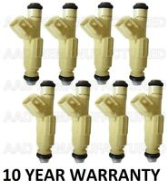 Genuine Bosch Set Of 8 Fuel Injectors for Mercury Mountaineer Ford Explorer 5.0L
