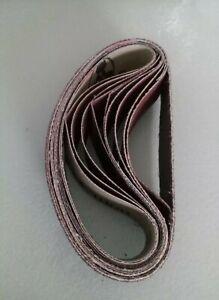 10pcs 25mm x330mm Sanding Belts Set Sanding Belt 60-1000 Grit for KKMoon Sander