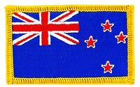 NEW ZEALAND NEW ZEALANDER FLAG PATCHES COUNTRY PATCH BADGE IRON ON EMBROIDERED