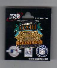 Super Bowl XXXIII Pin 1-31-99 Miami Florida