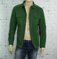 DIESEL Jacket in Green Size XL Slim Fit NWT 100% Cotton was $398.00