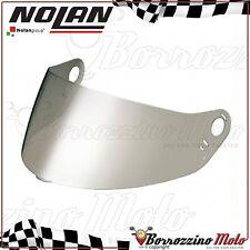 VISIERA ORIGINALE NOLAN NFS-06 METAL ARGENTO SPECCHIO N62 N63 N64 - GREX G6.1
