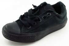 Converse all Star Toddler Sz 11 Medium Black Loafers Fabric Unisex