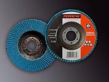 Disco de láminas de pulir  P100 115x22-T27 (Pack de 20 unades)