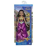 Disney Princess Jasmine Fashion Doll with Gown, Shoes, & Accessories, Inspired b