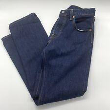 Levis 501 Selvedge Denim Jeans Button Fly Sz 30 X 30 Excellent