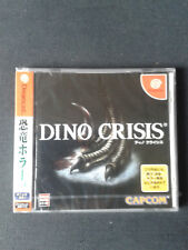DREAMCAST DINO CRISIS  Jap - NEUF/Scellé - NEW FACTORY SEALED