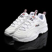 FILA Ray White Authentic Running Shoes 2018 Unisex Size UK 3-9 FS1SIA1160X_WWT
