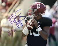Tua Tagovailoa Autographed Signed 8x10 Photo ( Alabama Crimson Tide ) REPRINT