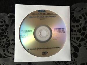 Dell Latitude E5270 E5470 E5570 Resource Drivers CD DVD Disc