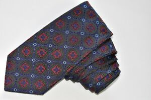 """David Donahue Gray   Men's Neck Tie W: 3 1/4 """" by L: 59 """" made in USA"""