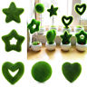Künstliche Moos-Ball-Fälschungs-Grünpflanze-Ausgangsfest-Gartentisch-Dekor