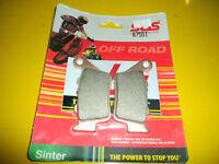 KTM BREMBO CALIPERS / SBS SINTER REAR BRAKE PAD (675SI)