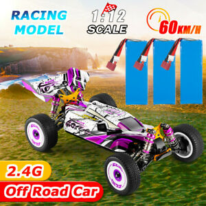 Wltoys 124019 Racing Car High Speed 60km/h 4WD 1/12 Off-Road Drift Car RTR