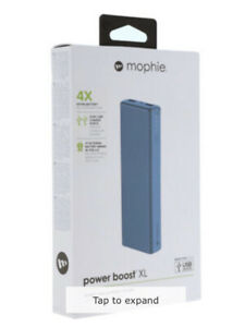 Mophie Powerstation Boost XL 10,400mAh Blue, Portable Charger
