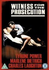 Witness for the Prosecution (Charles Laughton Marlene Dietrich) New Region 4 Dvd