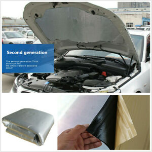 5mm 1x1.4m Insulation Mat Soundproof Pad Waterproof Fit For Car Engine Firewall