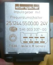 Lot of 10 Eberspacher Volt Impulse Switch 25.1244.55.00.00  2540-12-171-3207 24V