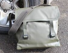 GENUINE DUTCH ARMY PVC SHOULDER BAG IN OLIVE GREEN