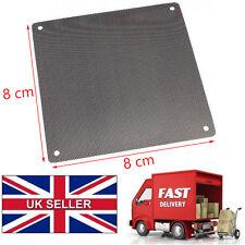 2 pcs pc ventilateur filtre à poussière antipoussière étui ordinateur mailles 8 cm