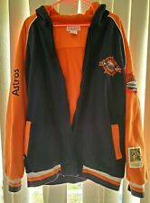 Mitchell & Ness 1986 Astros Zipper Hoodie Size 54, Cooperstown Collection