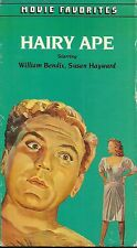 The Hairy Ape (VHS) 1944 William Bendix - Susan Hayward