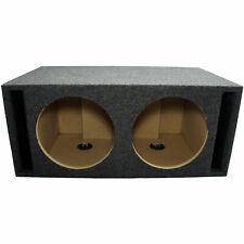 "Car Audio Dual 12"" Spl Bass Subwoofer Labyrinth Vent Sub Box Stereo Enclosure"