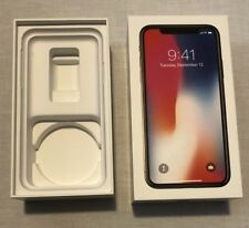 Iphone X Box - 64GB Space Gray BOX ONLY