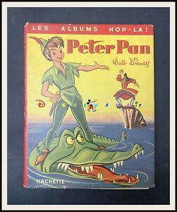 ⭐ PETER PAN Disney Hachette animated book ALBUMS HOP-LA - 1953 - DISNEYANA.IT ⭐