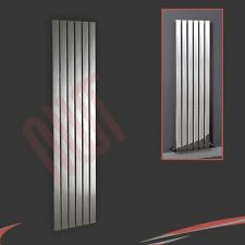 "450mm(w) x 1800mm(h) ""Luna"" Designer Chrome Vertical Radiator 6 Flat Panels"