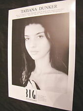 Big Beauty Model Agency Composit Vintage Tatiana Dunker Miss Tenerife 1992 Moda