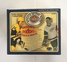 2001-02 Fleer Greats of the Game Hockey NHL Factory Sealed Hobby Box