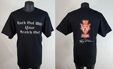 Malt Scotch Whiskey WILD SCOTSMAN T Shirt Mens XL Rare ROCK OUT Tee
