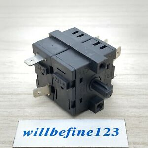 1pc HUA LI LAI FZ31-9 Rotary selector switch double layer 8 pins 6 positions