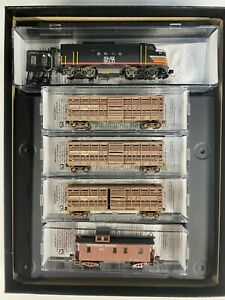 N Scale - MTL Southern Pacific Weathered Cattle Car Train Set N4012