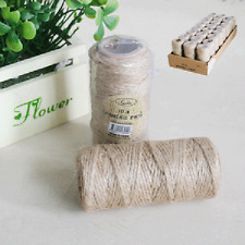 Rustic Burlap Twine String Hessian 30 Metres Length Natural Vintage Country