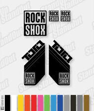 RockShox Tora 2010 Style Decals / Stickers - Custom / Fluorescent Colours