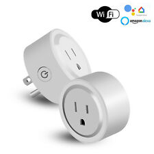 Mini Wifi Smart Outlets Adapter Plug Socket Outlet For Alexa/Google Home/IFTTT