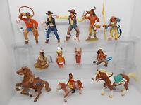 Bullyland Schleich Indianer Yakari Häuptling Western Cowboy Pferde Auswahl