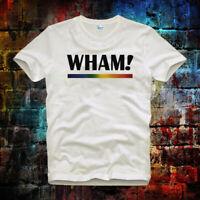 WHAM tee top Retro Vintage Unisex/ Ladies/ men's  T Shirt  B601