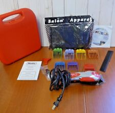 """Wahl Deluxe U-Clip Red Durable Storage Case Corded 8"""" Length (XK125)"""