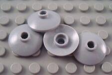 New LEGO Lot of 4 Light Bluish Gray 2x2 Space Radar Dishes