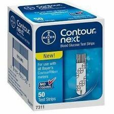 Bayer Contour Next Blood Glucose Test Strips - 50 ea