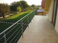 6m  Handlauf Balkongeländer Relinggeländer  Edelstahl  Bodenmontage  gerade