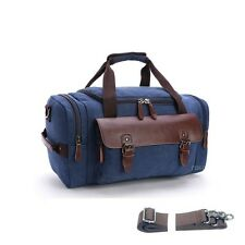 1322191c3c blue canvas duffle bag