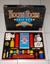 HOCUS POCUS MAGIC SHOW Scatola magica 150 Tricks – Jumbo 1988 Magia No Silvan