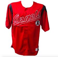 Anaheim Angels MLB Baseball Jersey Adult M - XXL Authentic Button Down Jersey